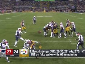 Watch: DJ on Steelers' fake spike play-call: 'It just doesn't make any sense'
