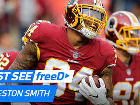 Watch: freeD: Preston Smith takes advantage of Gabbert's misfire with the INT | Week 15