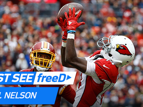 Watch: freeD: J.J. Nelson outruns Breshaud Breeland for a deep 46-yard gain | Week 15