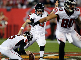 Matt Bryant booms a 57-yard field goal