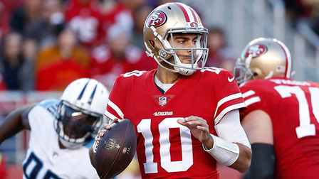 San Francisco 49ers QB Jimmy Garoppolo motivates teammates for game-winning drive vs. Titans | 'NFL Turning Point'