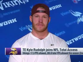 Rudolph: Vikings 'deserve more than four' players in the Pro Bowl