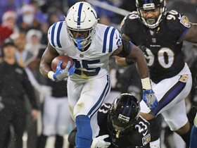 Marlon Mack gashes Ravens defense for 29-yard gain on screen pass