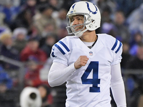 Adam Vinatieri nails 48-yard field goal into the wind