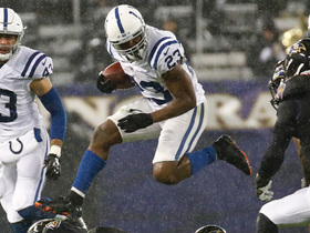 Frank Gore powers through Ravens' defense for tough 11-yard gain