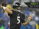 Watch: Next Gen Stats: Joe Flacco completion percentage to TE and RB