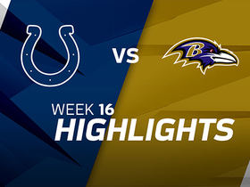 Colts vs. Ravens highlights | Week 16