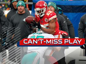 Can't-Miss Play: Marcus Peters makes toe-tap fumble recovery