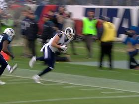 Cooper Kupp makes incredible sideline grab to set up 1st-and-goal