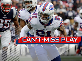 Can't-Miss Play: Poyer picks off Brady, takes it back for six