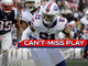 Watch: Can't-Miss Play: Poyer picks off Brady, takes it back for six