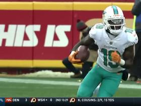 Jakeem Grant catches dart from Cutler for 26 yards and a first down