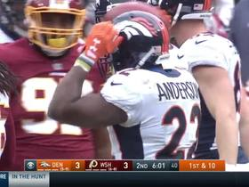 C.J. Anderson stays hot, bursts downfield for 21 yards
