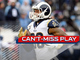 Watch: Can't-Miss Play: Todd Gurley takes screen 80 yards for TD No. 19