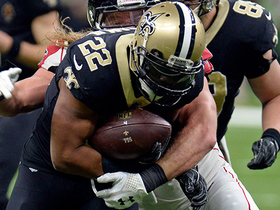 Mark Ingram converts fourth down on botched play