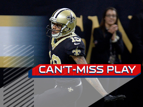 Can't-Miss Play: Drew Brees launches pass to Ted Ginn for 54-yard TD