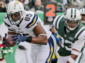 Philip Rivers fires to Antonio gates for a 20-yard gain