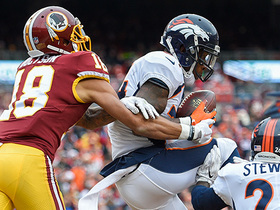 Will Parks comes up with HUGE end zone interception of Kirk Cousins