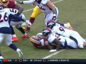 Von Miller rips ball free from Samaje Perine, Broncos recover