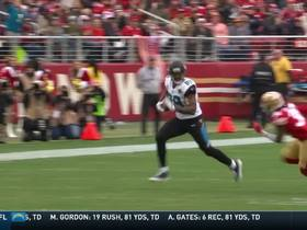 Blake Bortles floats pass to Marcedes Lewis for 22 yards