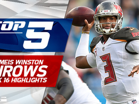 Top 5 Jameis Winston throws | Week 16