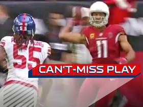 Can't-Miss Play: Larry Fitz throws first career pass completion