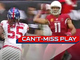 Watch: Can't-Miss Play: Larry Fitz throws first career pass completion