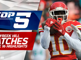 Top 5 Tyreek Hill catches | Week 16