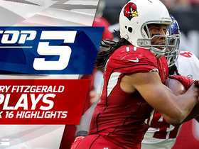 Top 5 Larry Fitzgerald plays | Week 16