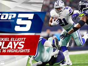 Top 5 Ezekiel Elliott plays | Week 16