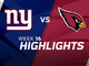 Watch: Giants vs. Cardinals highlights | Week 16