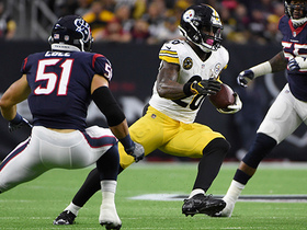 Le'Veon Bell makes Texans defenders miss on way to 22-yard run