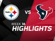 Watch: Steelers vs. Texans highlights | Week 16