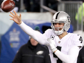 Raiders go for it on fourth down, fail to convert