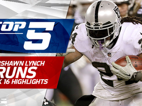 Top 5 Marshawn Lynch runs | Week 16