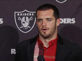 Carr after loss to Eagles: 'Everyone should feel sick right now'