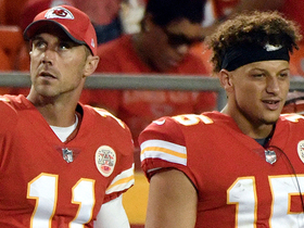 Smith reacts to Mahomes getting start in Week 17