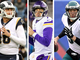 Who will go further in the playoffs: Goff, Keenum or Foles?