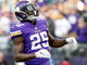 Watch: Latavius Murray somehow stays upright for goal-line TD