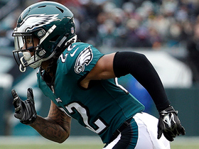 Sidney Jones makes his first career tackle