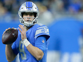 Stafford makes back-shoulder TD pass to Jones look routine