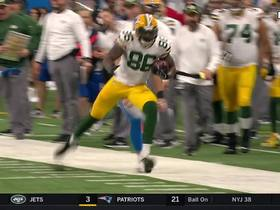 Emanuel Byrd sprints out of his shoe on 29-yard catch-and-run