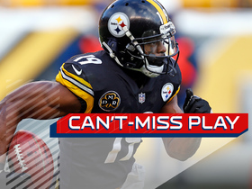 Can't-Miss Play: JuJu throws down Browns defender on MONSTER return TD