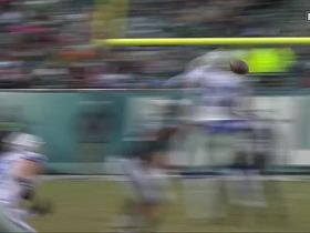 Benwikere breaks up Sudfeld's pass for huge fourth-down stop