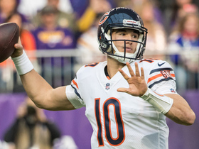 Trubisky ropes a pass in to Inman for 23 yards