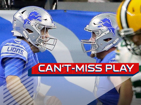 Can't-Miss Play: Stafford gets two-point conversion with tricky pass from Tate