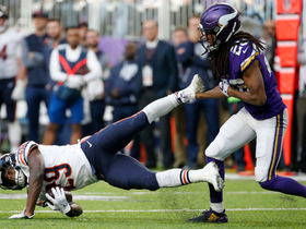 Vikings defense stuffs Tarik Cohen on fourth down to seal victory