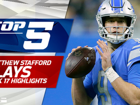 Top 5 Matthew Stafford plays | Week 17