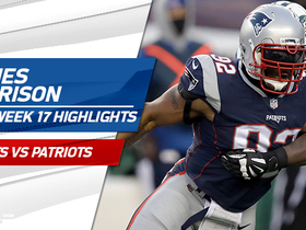 Every play from James Harrison's Patriots debut