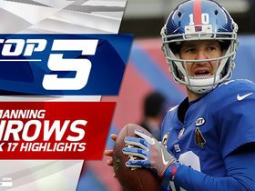 Eli Manning Top 5 throws | Week 17